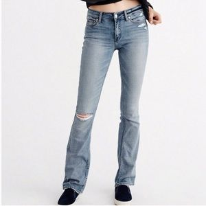 Abercrombie & Fitch Emma Distressed Jeans